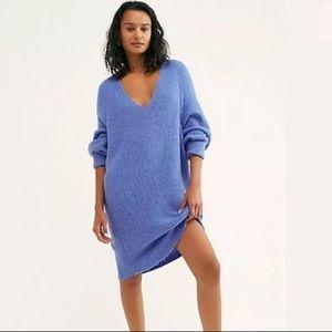 Free People Longline Sweater Tunic
